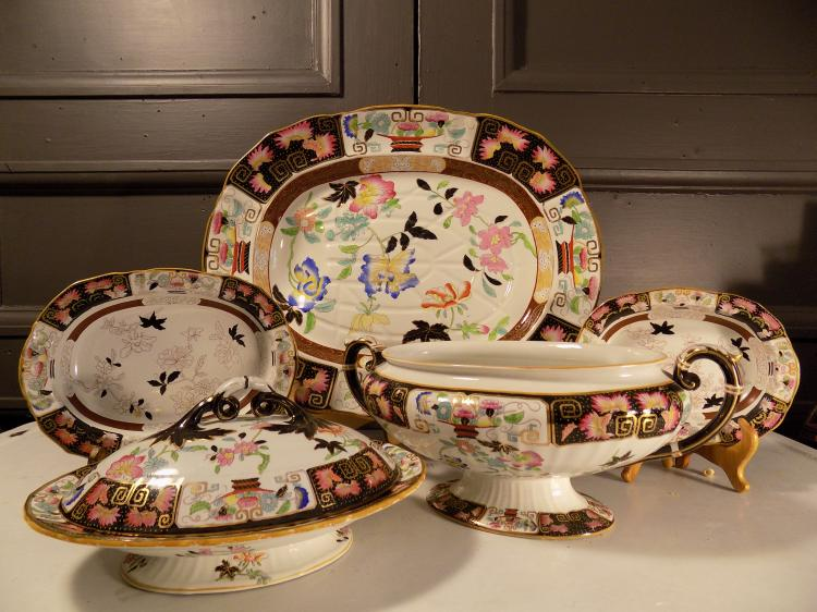 5-pc Ashworth Porcelain