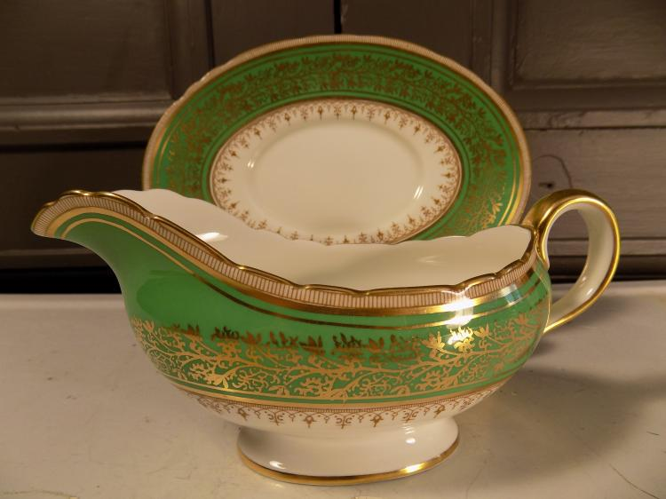 Aynsley Gravy Boat and Saucer