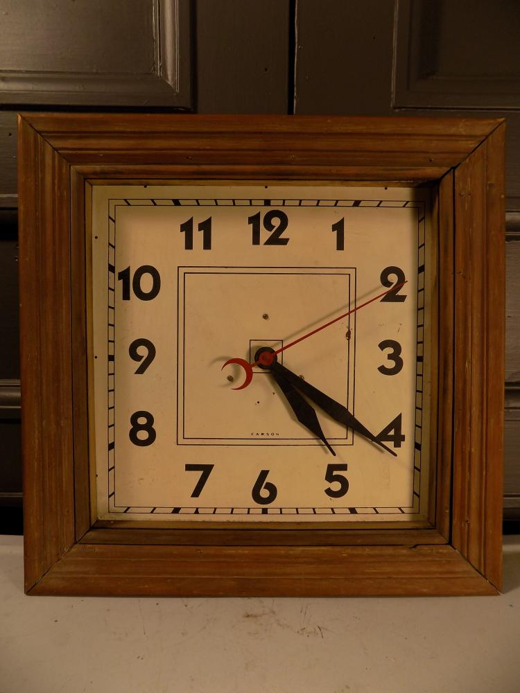 Carson Station Clock