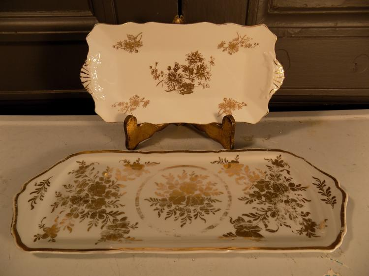 Two Porcelain Platters