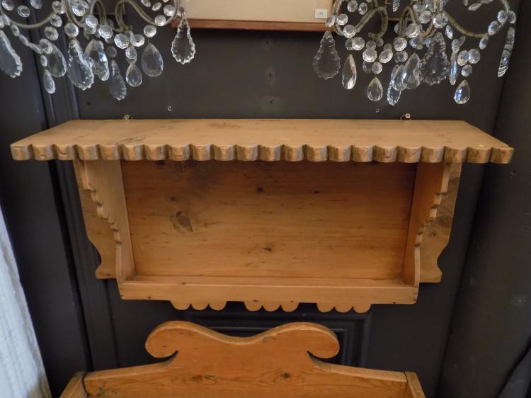 Antique Pine Shelf