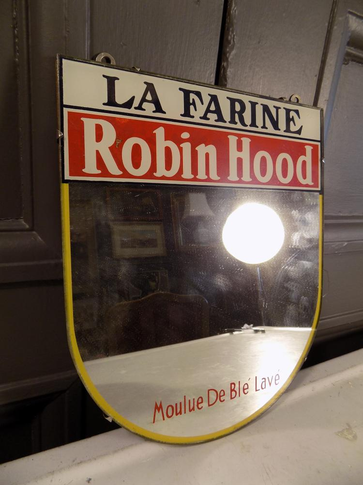 Robin Hood Flour Advertising Mirror