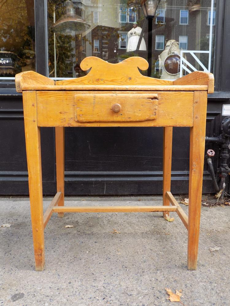 Antique Quebec Pine Washstand