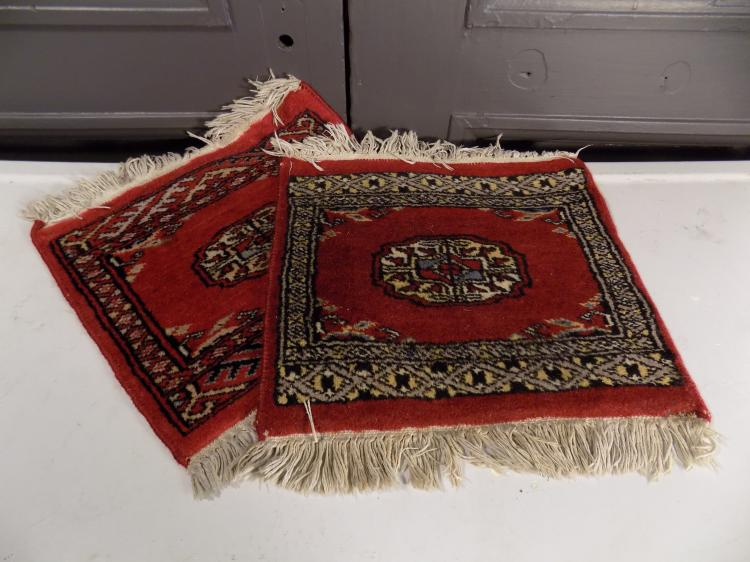 Two Miniature Rugs