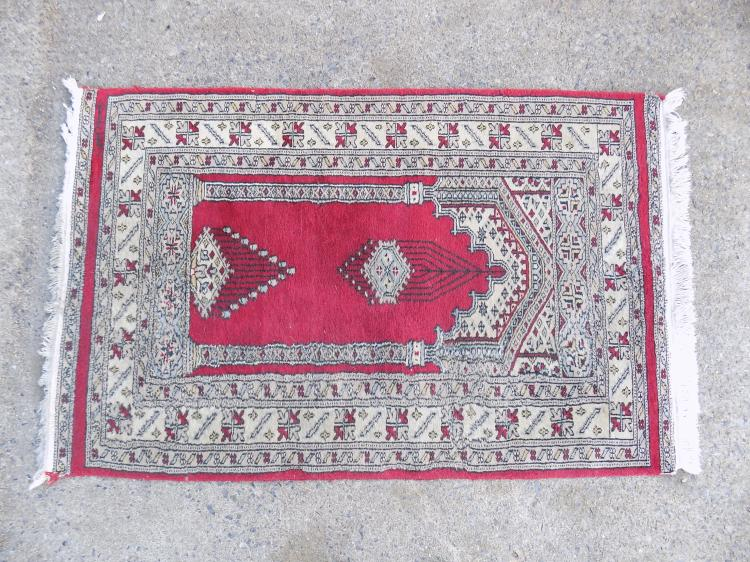 Antique Prayer Rug