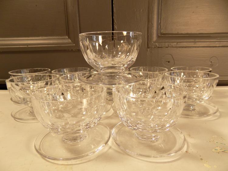 Set of 12 Waterford Dessert Cups