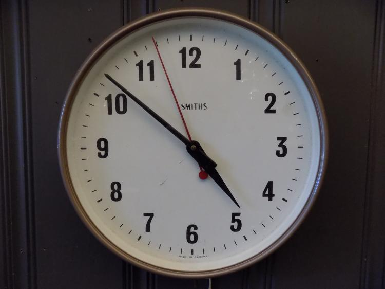Smiths Industrial Clock