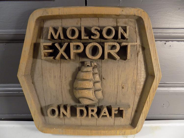 Molson Export Advertisement