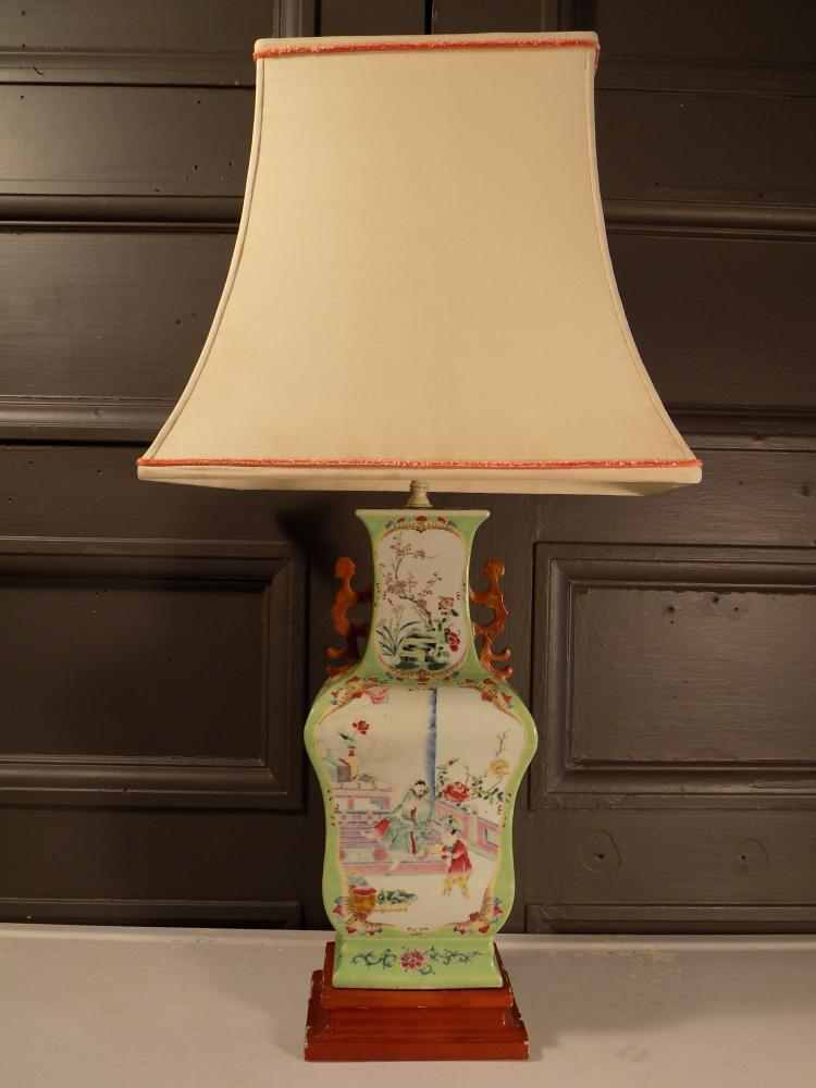 Antique Chinese Vase Lamp