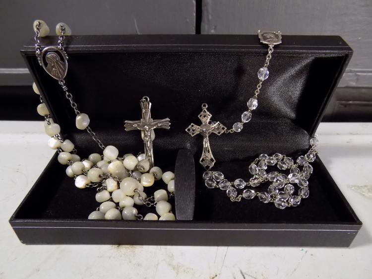 Two Sterling Rosaries