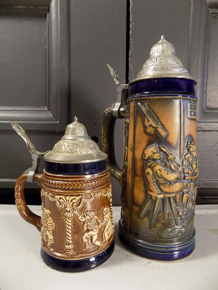 Two German Steins