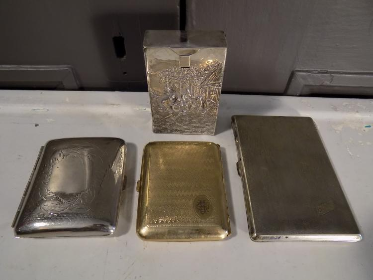 Lot of Cigarette Cases