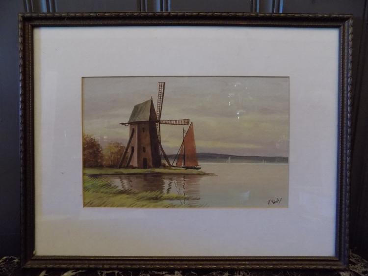 T. Bailey Watercolor