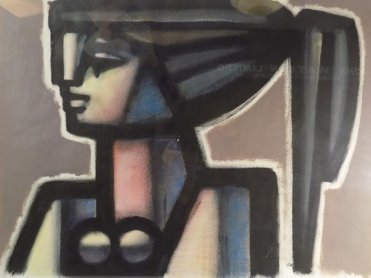 Juan M. Sanchez Acrylic