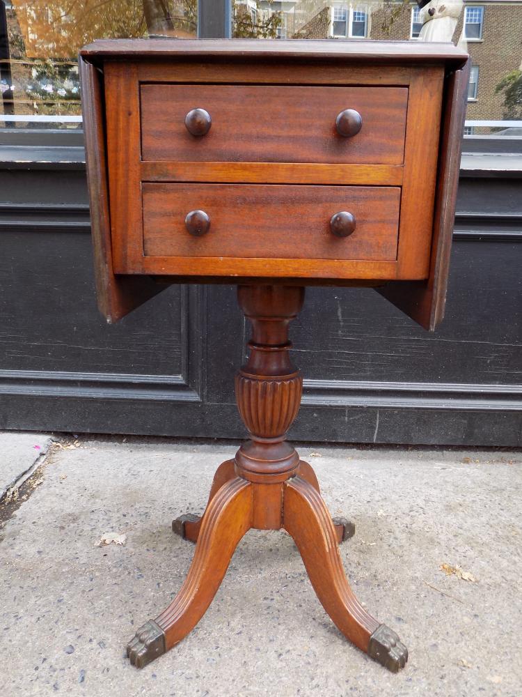 Pembroke Pedestal Table