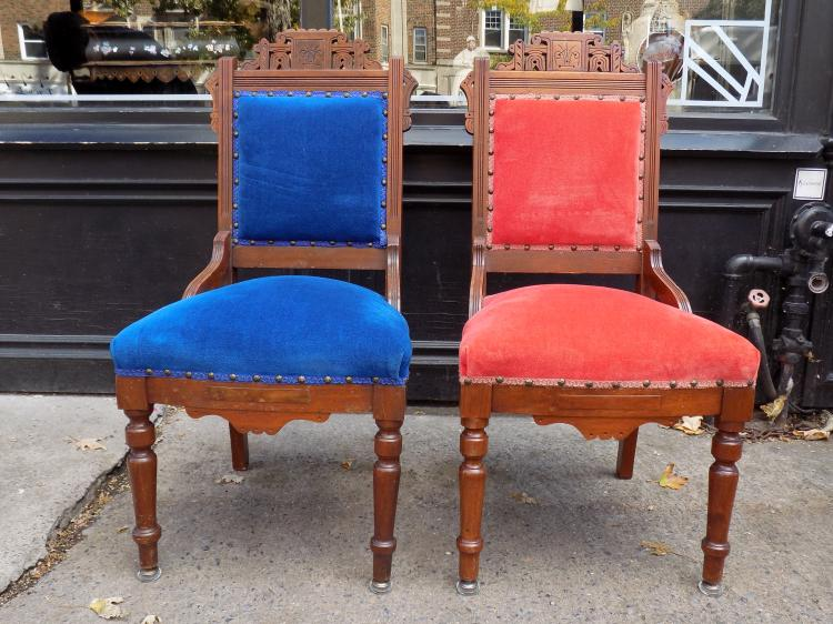 Pair of Eastlake Side Chairs