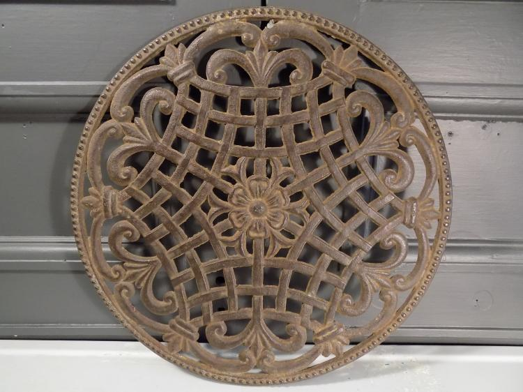 Cast Iron Architectural Salvage Grate