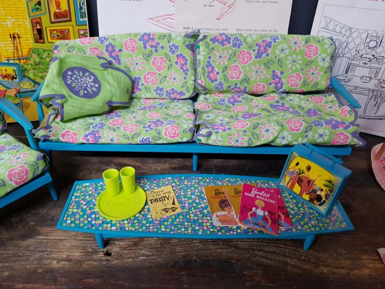 1965 barbie living room furniture group for Furniture 4 a lot less