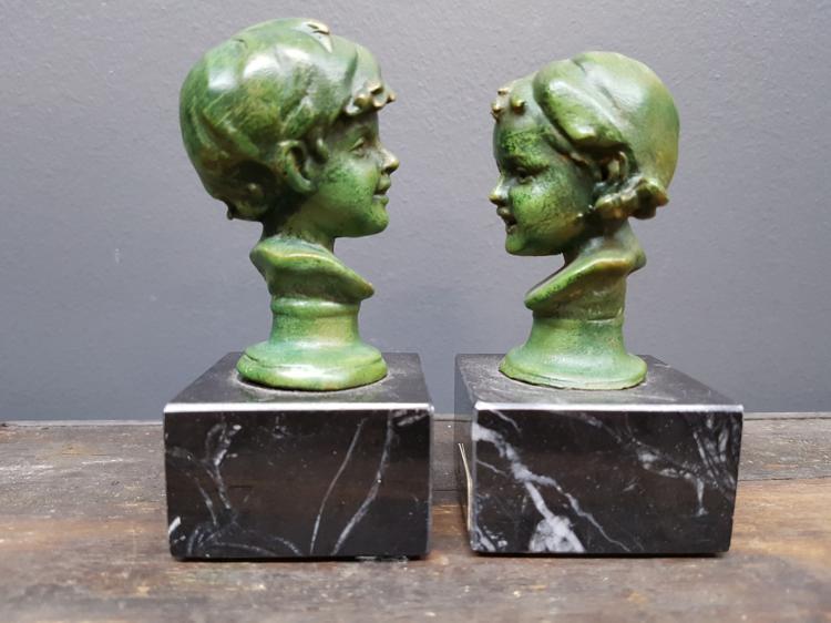 Pair of Bronzed Italian