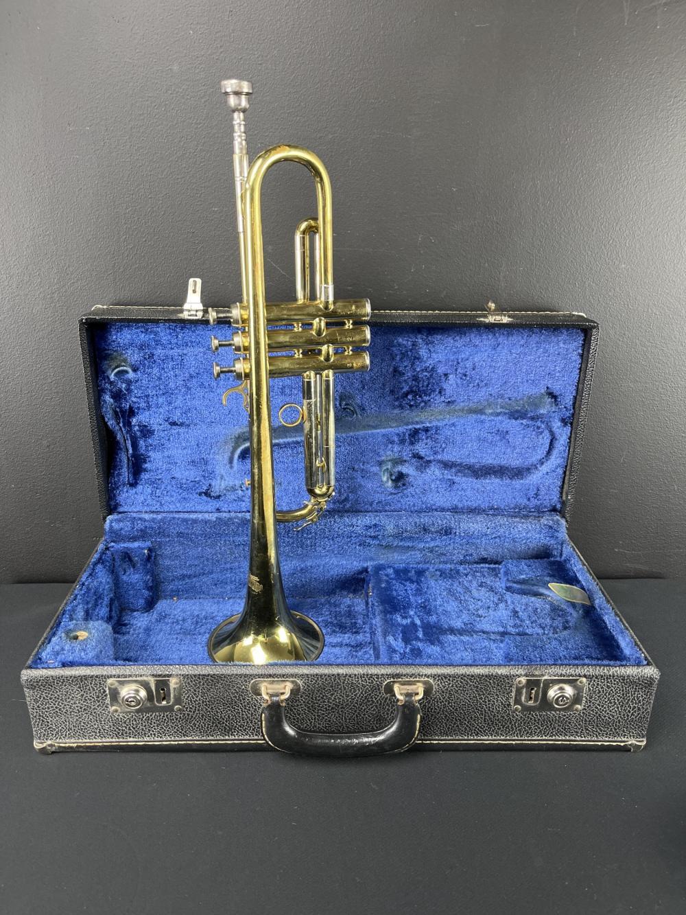 Vintage Besson Crescendo London England Trumpet