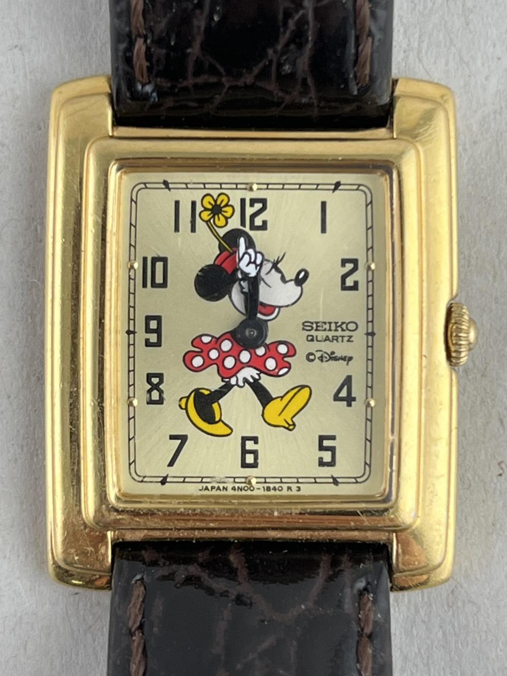 Vintage Seiko Minnie Mouse Watch