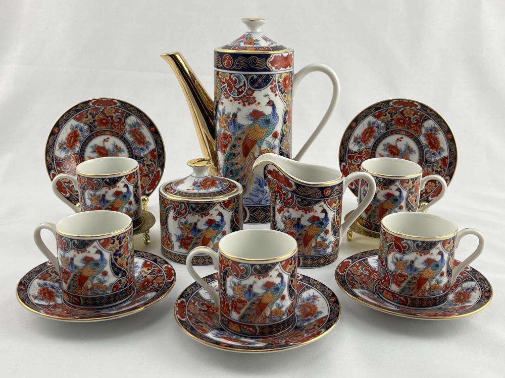 Vintage Japanese Imari Tea Set