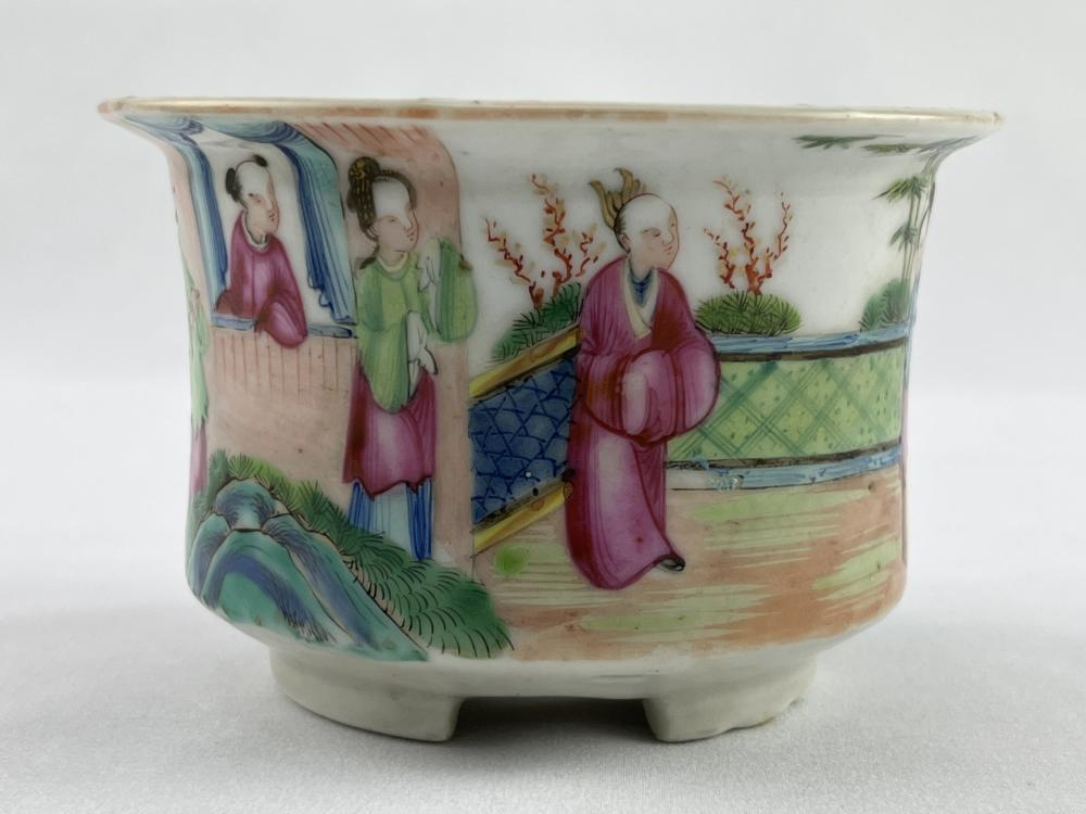 Antique Chinese Famille Rose Planter Pot Jardiniere