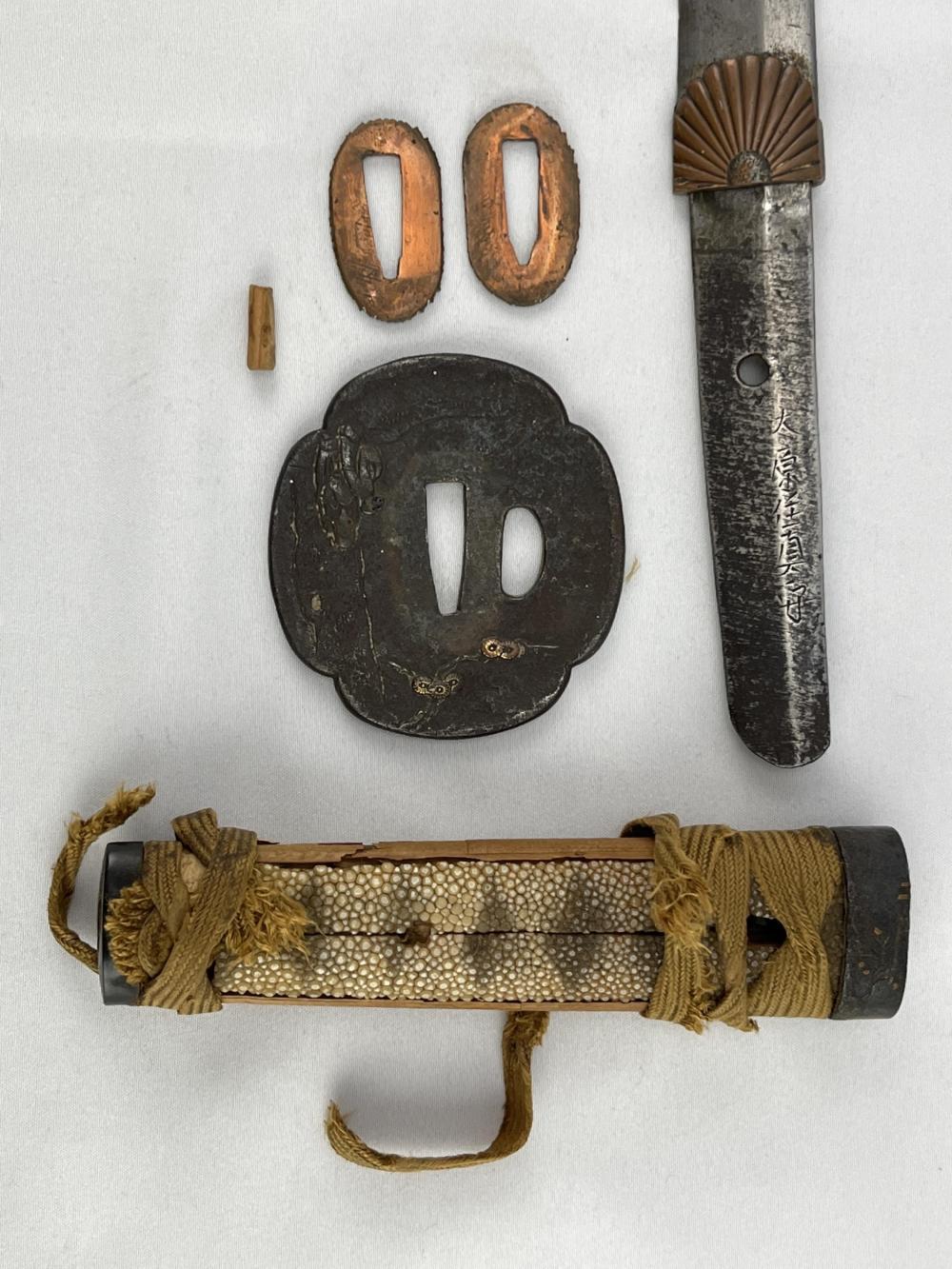 Japanese Wakizashi Mokkogata Edo Period