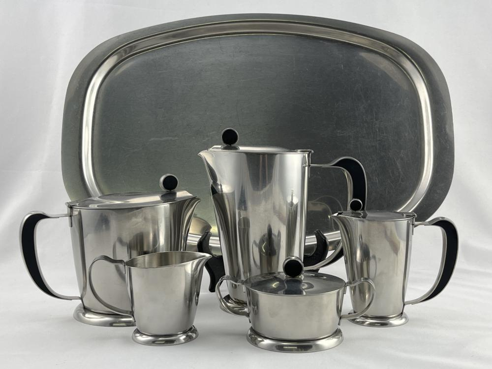 1960s Gense Sweden Stainless Coffee Tea Set