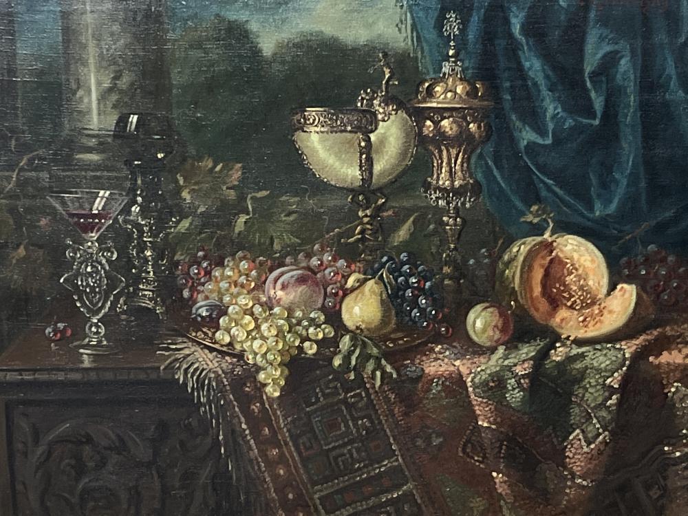 Ernst Czernotzky Austrian Oil On Canvas Still Life