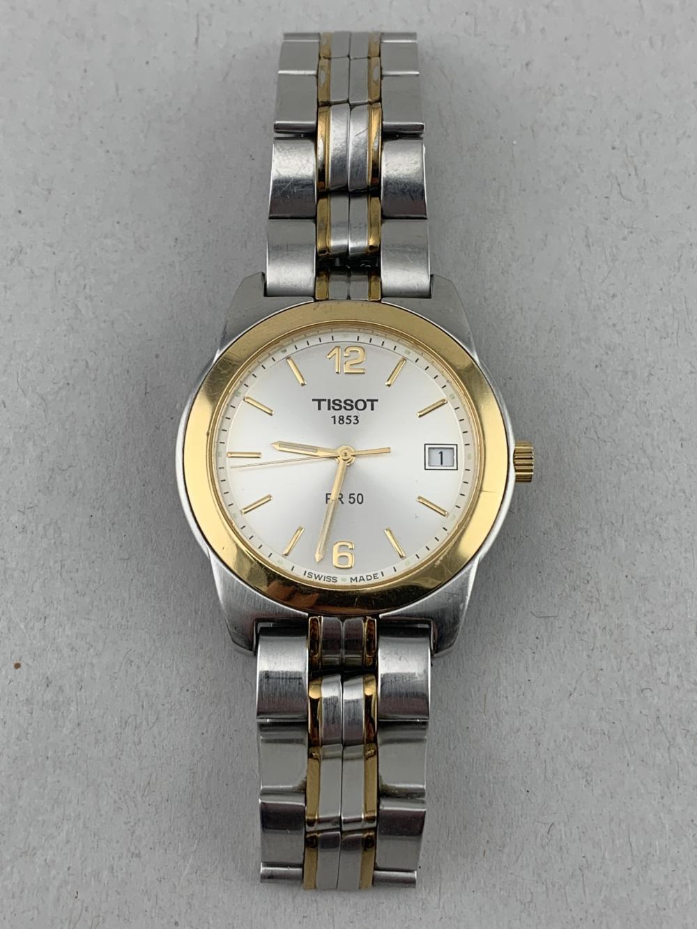 Tissot 1853 Pr 50 Mens Stainless Steel Wrist Watch