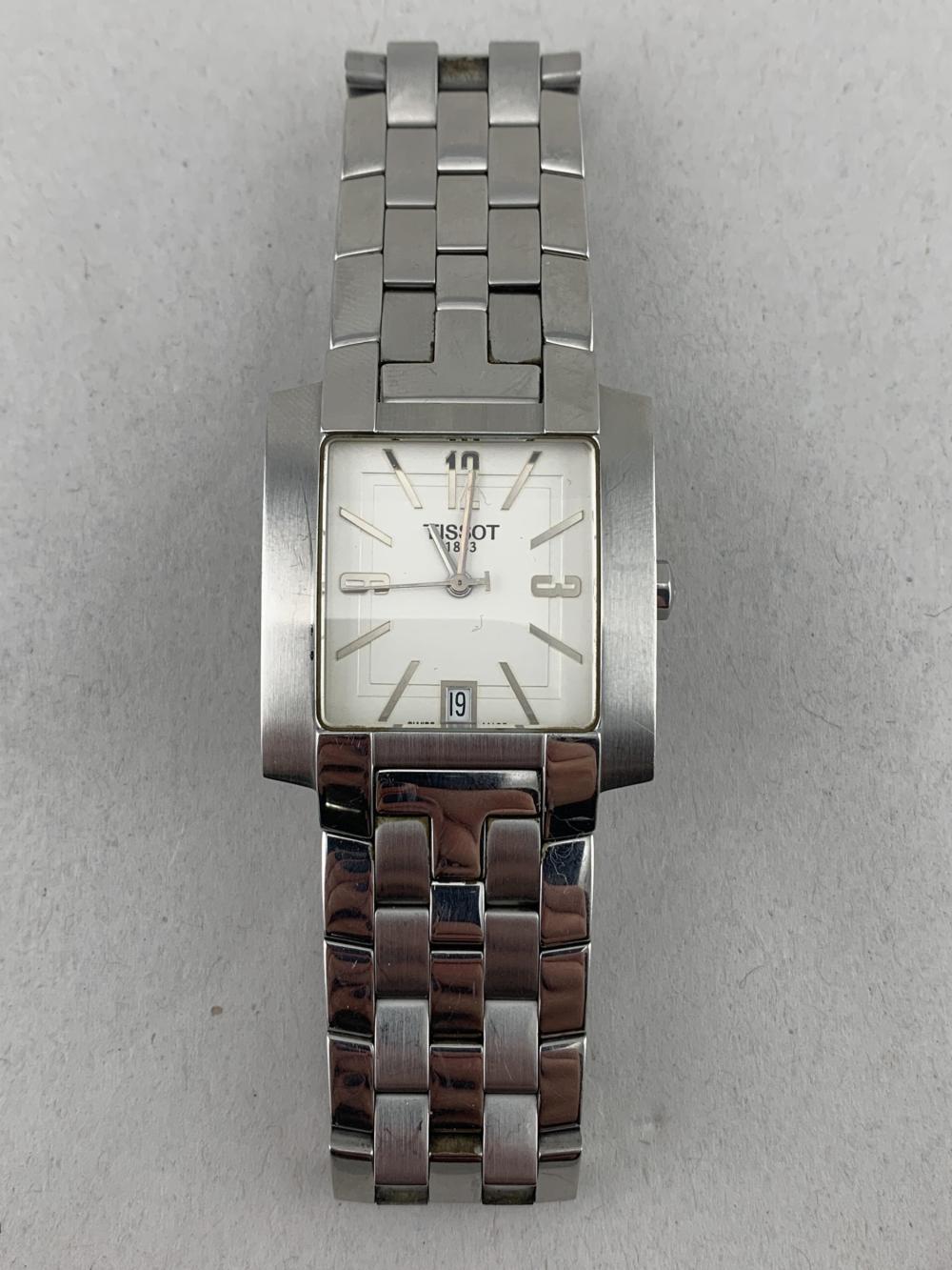 Tissot 1853 Square L860/960 Men's Wrist Watch