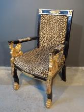Egyptian Revival Prop Chair