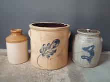 Lot of 3 Damaged Crock Pots