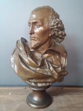 Albert-Ernest Carrier-Belleuse (French, 1824 - 1897) Bronze Bust