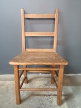 Antique Quebec Pine Chair
