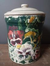 Medalta Potteries Handpainted Crock Pot