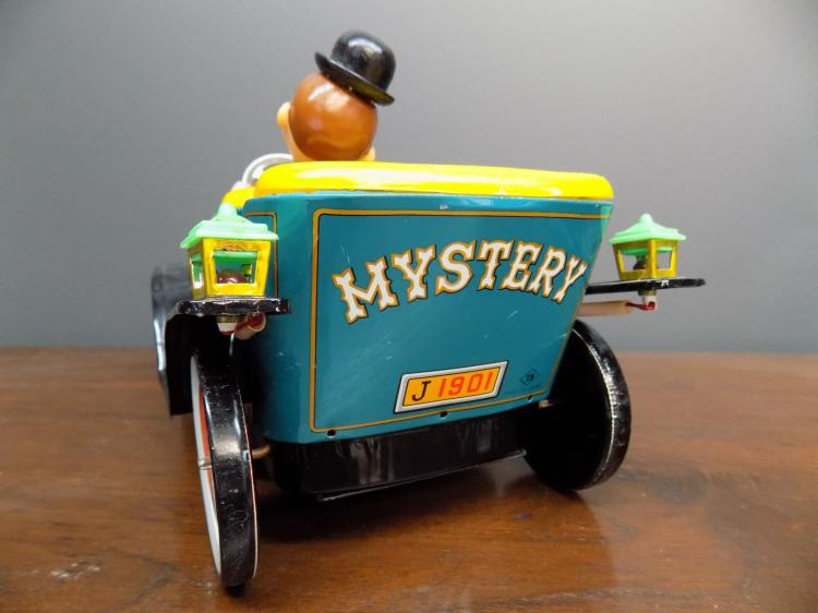 Japanese Toy Companies : Mystery dandy car tn toy company japan