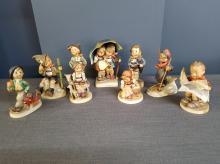 Lot of 9 Hummel Figurines