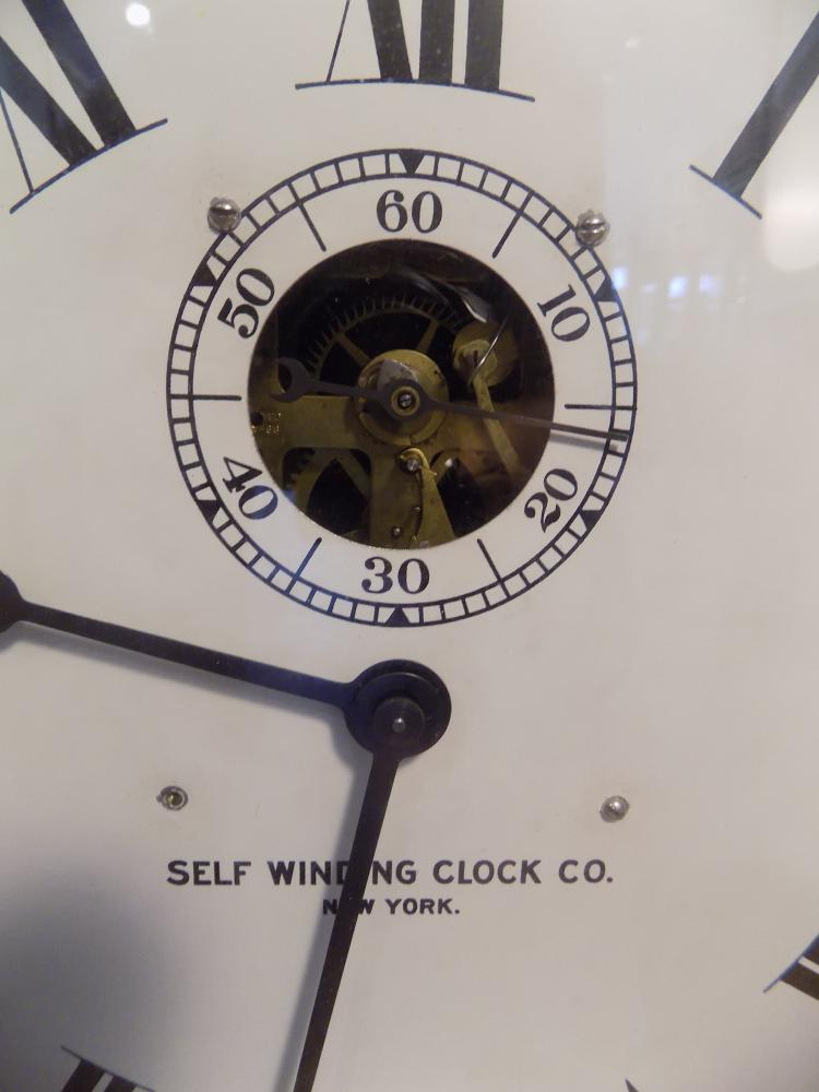 Quot Self Winding Clock Co Quot Station Clock New York