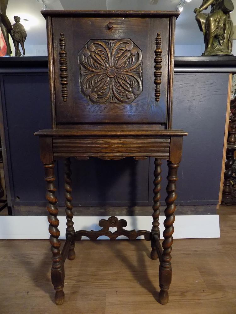 Tudor Style Telephone Table
