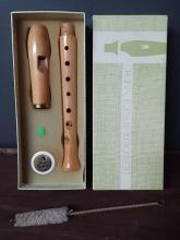 Roessler Wooden Recorder in Box
