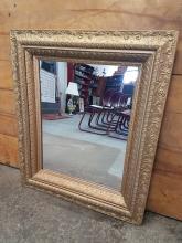 Victorian Gilt Frame Mirror