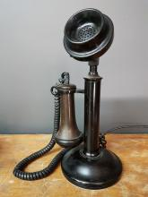Northern Electric Candlestick Phone