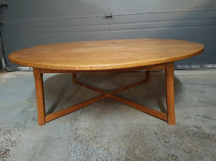 Round Pine Country Coffee Table