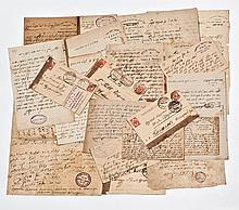 Unknown Historical Archive - Sixty Letters by Russian and Polish Rabbis and Rebbes Protesting the Beilis Trial Blood Libel
