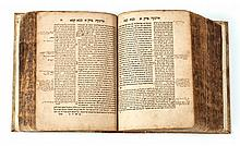 Rav Alfas - Amsterdam, 1643 - Complete Volume on the Whole Talmud - Hundreds of Glosses in the Handwriting of the