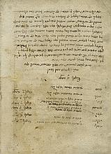 Sefer HaGoralot by Rabbi Abraham Ibn Ezra - Early Ashkenazi Manuscript, 16th Century, Unique Version, Different from the Printed Version