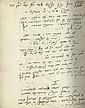 Manuscript and Letters - Dr. Leopold Löw of Szeged