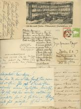 Collection of Greetings Sent to Hermann Meyer Upon the Birth of his Daughter - Berlin, 1934